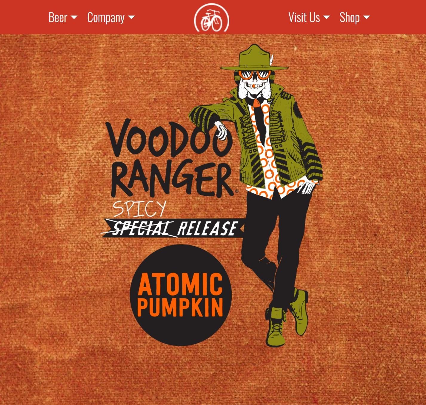 voodoo ranger atomic pumpkin